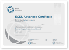 Certifik�t ECDL Advanced